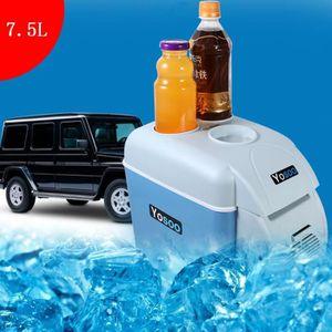 CONGÉLATEUR COFFRE 12v 7.5L Mini réfrigérateur portatif pour Voiture