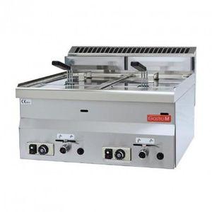 FRITEUSE ELECTRIQUE Friteuse à gaz 600 - 2 x 8 L - Gastro M