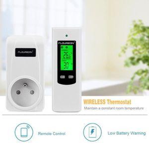 THERMOSTAT D'AMBIANCE Floureon Thermostat D'ambiance Contrôleur de tempé