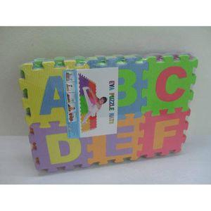 COLLE PUZZLE Puzzle Tapis de Jeu Enfant en Mousse EVA, Dalle Mo