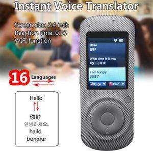 TRADUCTEUR ÉLECTRONIQUE T4W Wifi Traducteur Vocal 16 Langues Intelligent T