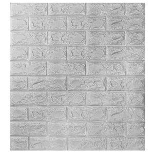 adhesif briques effet 3d achat vente adhesif briques. Black Bedroom Furniture Sets. Home Design Ideas