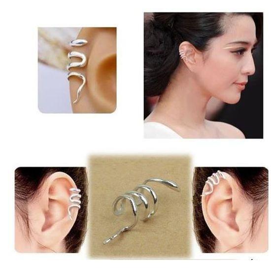 Bijoux D Oreille Cartilage bague clips d'oreilles sans perçage pour cartilage - achat / vente