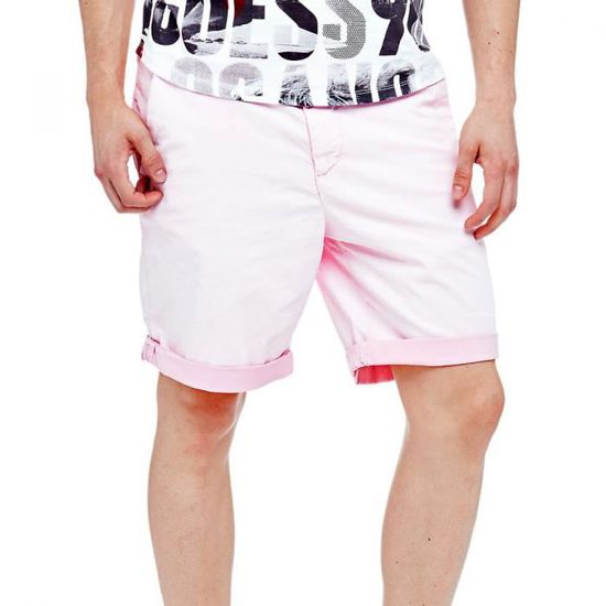 bf3a7d9b38 Guess Short Homme Trent Rose Rose Rose - Achat / Vente short - Cdiscount