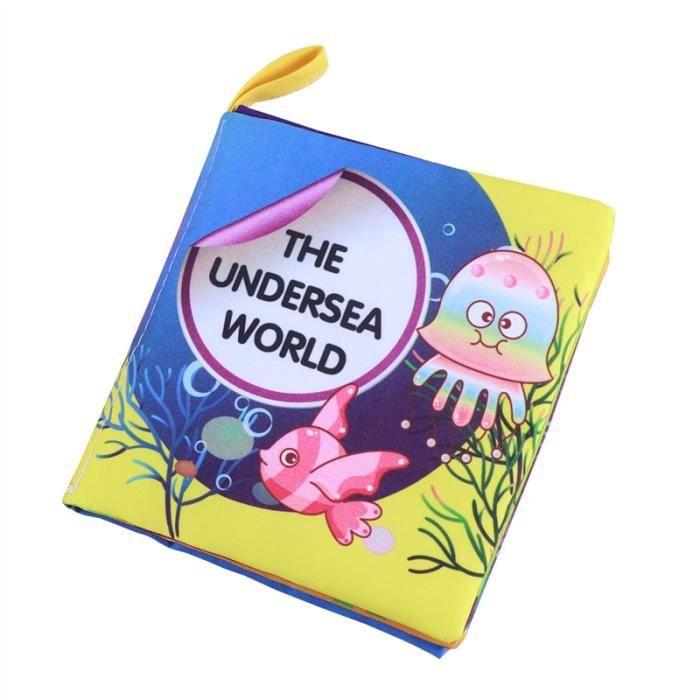 Livres En Tissu Doux Pour Bebe Livre En Premiere Partie De Bebe Livre En Tissu Non Toxique Jouets Educatifs Ocean