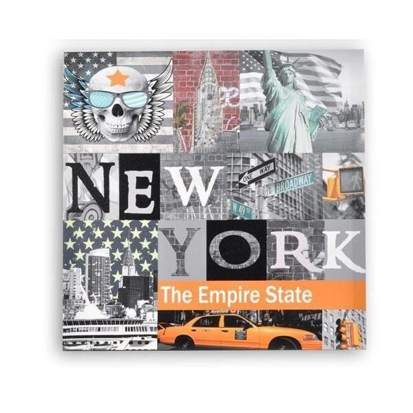 cadre en toile new york achat vente cadre en toile new york pas cher soldes d s le 10. Black Bedroom Furniture Sets. Home Design Ideas