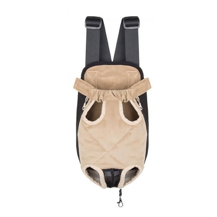 Honeyhome Sac De Transport Ventral Poitrine Pour Animal Chien Chat Chiot (taille S)-beige