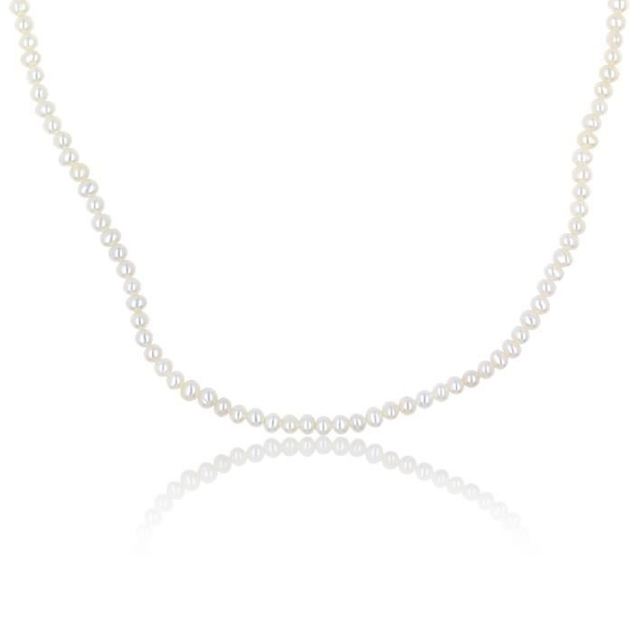 Collier CLEOR Or 750/1000 Perle