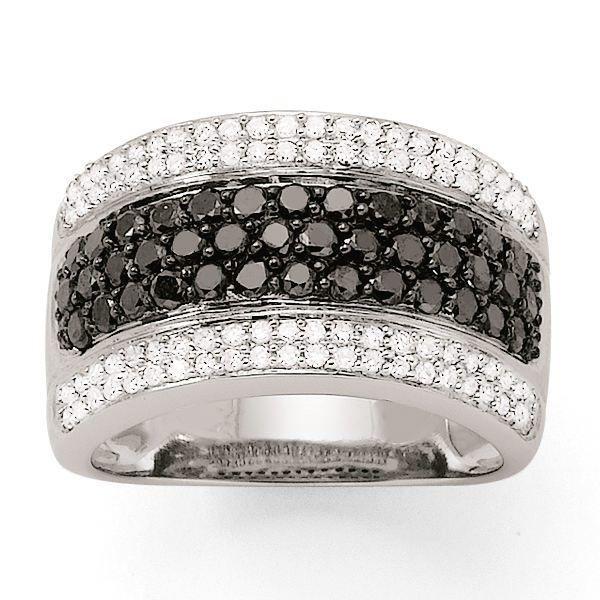 Personnes notables Bague Diamant noir Or:7.40 Gr Di… Jaune - Achat / Vente bague  RZ82