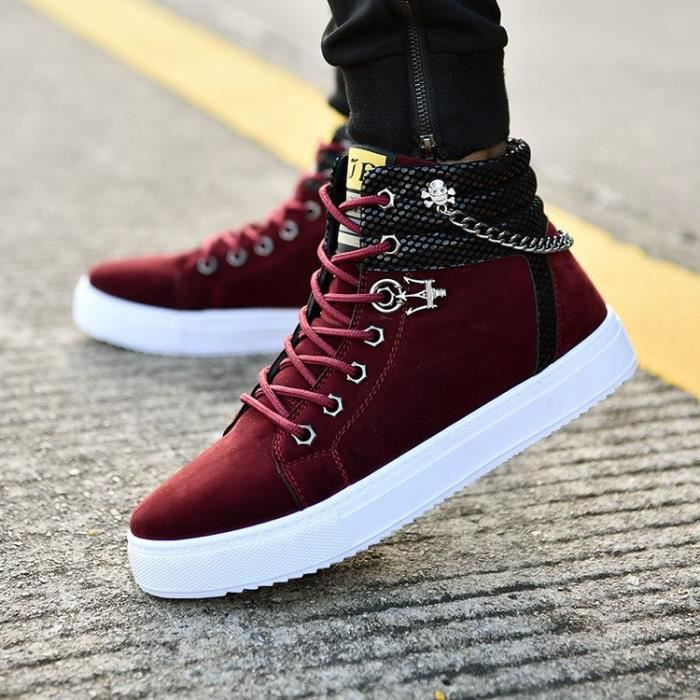 Loisirs Mode Denim Sneakers homme Khaki dZET0VZW
