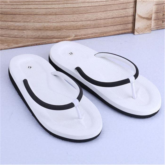 6d4c2a32e3bba Chaussures Tongs Homme Poids LéGer Chaussures Plage Printemps Et éTé Sandale  RéTro De Plein Air Sandale