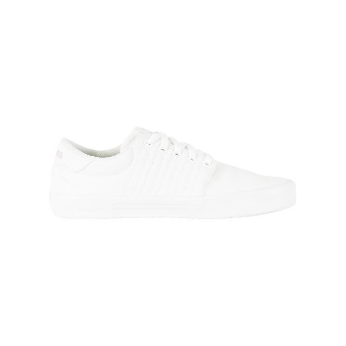 K-Swiss Homme Backspin Trainers, Blanc
