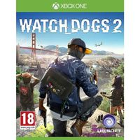 JEU XBOX ONE Watch Dogs 2 Jeu Xbox One+2 boutons thumbstick OFF