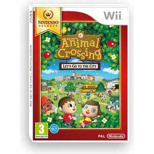 Animal Crossing Let's Go To The City Selects Wii