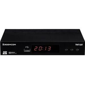 SAGEM DS81 Adaptateur TNT Satellelite HD - Noir