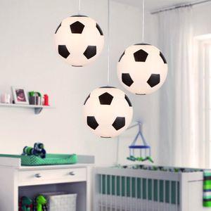 LUSTRE ET SUSPENSION Lustre de Football Lampe de Plafond Pour Décor de