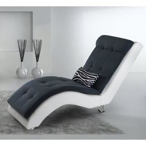 FAUTEUIL Mix Relax Chaise Longue KL MV Blanc Ant