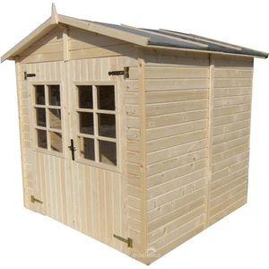 ABRI JARDIN - CHALET Abri de jardin en bois surface 4,02 m²