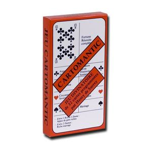 CARTES DE JEU Cartomantic - Jeu de 32 cartes