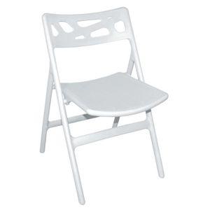 CHAISE Lot de 6 chaises de terrasse pliables de coloris b