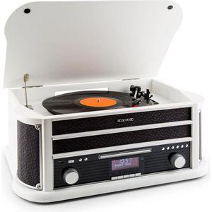 RADIO CD CASSETTE auna RM1 Belle Epoque 1908 chaine stéréo look rétr