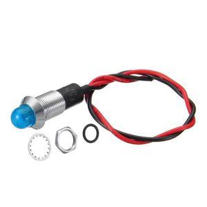 AMPOULE TABLEAU BORD LED Ampoules Bleu  12V 24V 12mm Tableau de bord vo