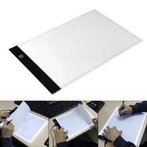 TABLE A DESSIN Tablette Lumineuse A4 LED Pad Pour Dessiner Plaque