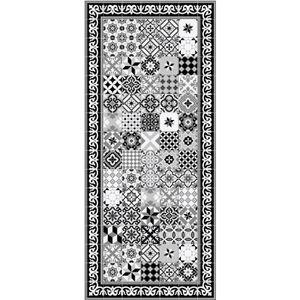 TAPIS FARO Tapis 100% vinyle - Motif carreaux de ciment