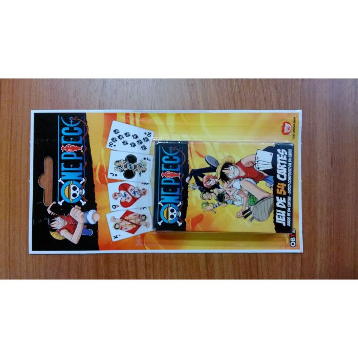 jeu de 54 cartes one piece achat vente cartes de jeu cdiscount. Black Bedroom Furniture Sets. Home Design Ideas