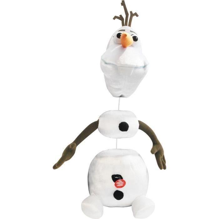 La reine des neiges olaf chantant achat vente peluche - Olaf de la reine des neige ...
