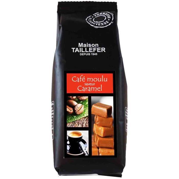 CAFÉ Café Saveur Caramel Sachet 125g