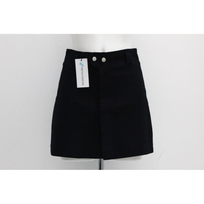 nice cheap buying new clearance prices Jupe ZARA S Bleu marine - Achat / Vente jupe - Cdiscount