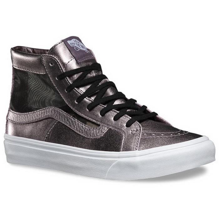 Slim Femme Hi Chaussure Maillot Vans Qk7ti Sk8 Sneaker Découpe 6If7gvybY