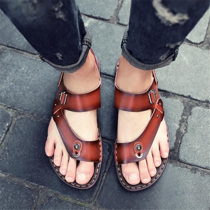 Résistantes Taille Luxe Couleurs À L'usure Marque Sandale Homme Plusieurs De Classique Plus Chaussures NkZ8nPwOX0