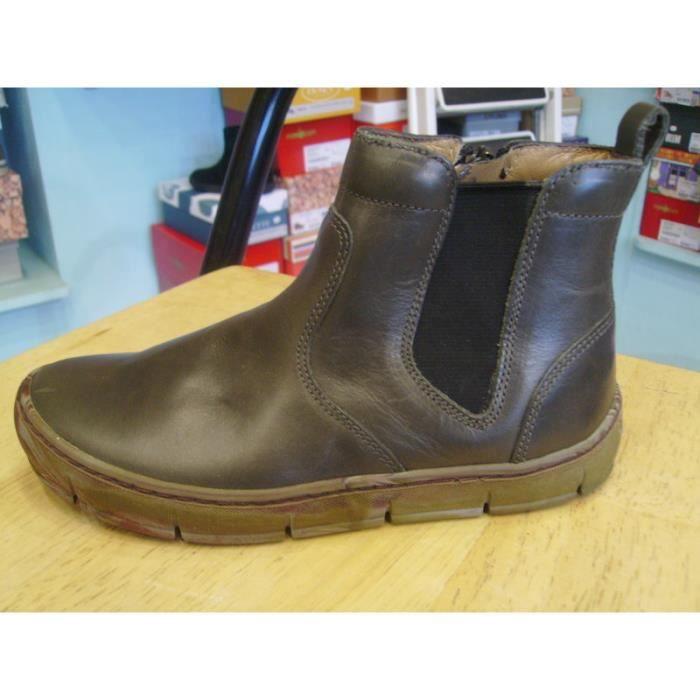 Chaussures enfants. Boots garçons POM D'API P30