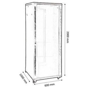 armoire de brassage informatique prix pas cher soldes. Black Bedroom Furniture Sets. Home Design Ideas