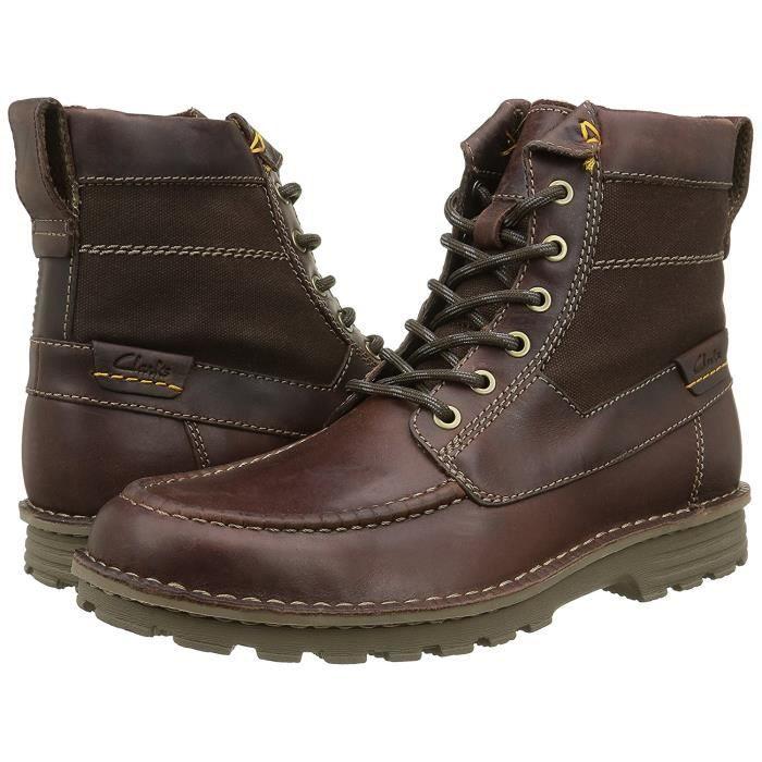 Clarks Sawtel Hi Marron Boots homme 6m5Rr
