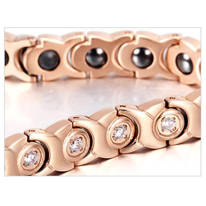 Bracelet magnétique Le nouveau anti -douleurs anti -fatigué bien -être -santé Bracelet femmes