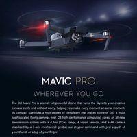 DRONE DJI Mavic Pro Camera Drone Combo Pack - GPS/GLONAS
