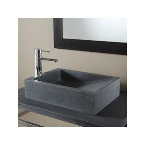 Lavabo en pierre naturelle - Achat / Vente pas cher