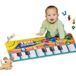 TAPIS ÉVEIL - AIRE BÉBÉ Piano bébé animal jouet éducatif Musique tapis L79
