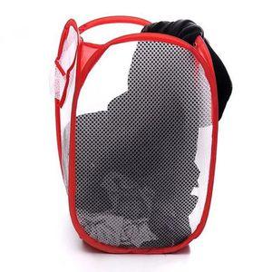 PANIER A LINGE Pliable panier à linge vêtements sac de rangement