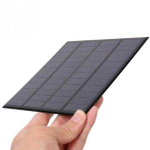 KIT PHOTOVOLTAIQUE Mini Panneau solaire 1pc 3w 12v 250ma Module Charg