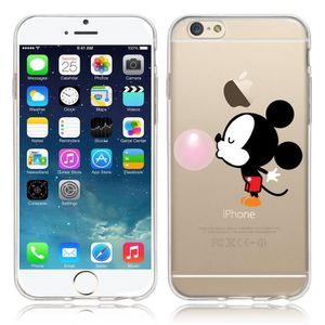 coque iphone 6 mickey 3d silicone