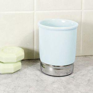 Verre à eau - Soda InterDesign 70412EU York Gobelet Bleu/Chrome