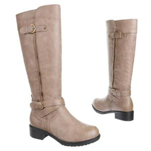 botte beige femme style motard nouvelle collection 36 mgcczmhw7S