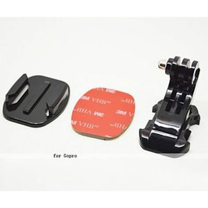 PACK ACCESS. CAMESCOPE Kit de montage en surface plate pour GoPro (3 pièc