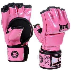 GANTS DE BOXE Gants MMA Combat Libre INTERCEPTOR Roses