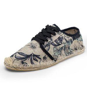 3cdd04f9cd5 CHAUSSURES DE RANDONNÉE Espadrille chaussures homme toile - Mode Léger Cha