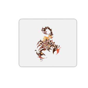 TAPIS DE SOURIS Tapis de souris rectangle scorpion arabesque